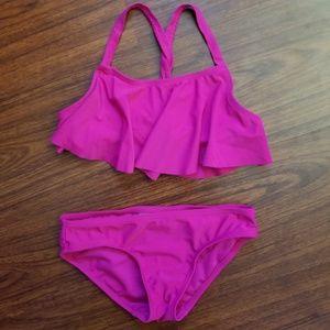 Girls Bikini Swimsuit Fuchsia
